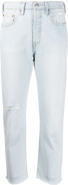501 Shout Out cropped jeans - Blue