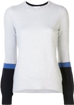 cashmere bell sleeve jumper - Grey