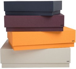 Desktop storage box set - ORANGE