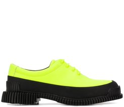 Pix lace-up loafers - Green