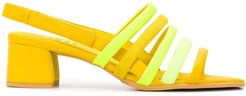 TWS strappy sandals - Yellow