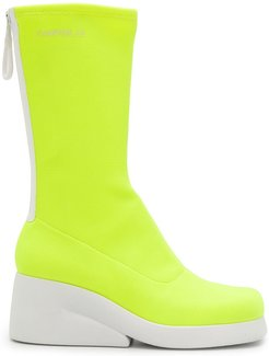 Kaah mid-calf boots - Yellow
