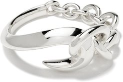 Hook chain ring - SILVER