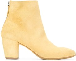 Coneros zip-up ankle boots - Yellow