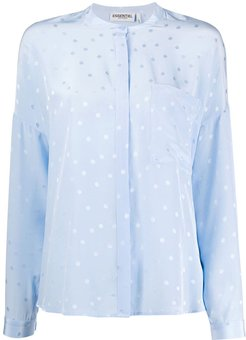 Vanne oversized blouse - Blue