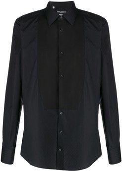 slim fit shirt - Black