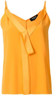 V-neck bow detail camisole - Yellow