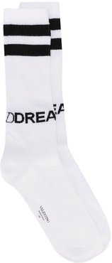 VLOGO Dreamers socks - White