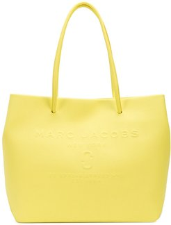 The East West logo shopper tote bag - Yellow