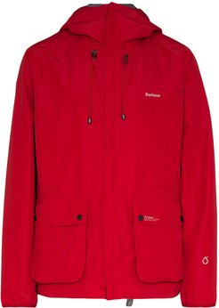 Bennett hooded jacket - Red