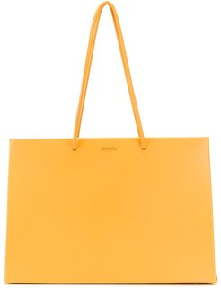 Dieci leather tote - Yellow