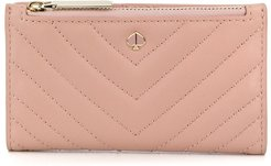 small Amelia bifold wallet - PINK