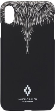Wings print iPhone XS Max CSS case - Black