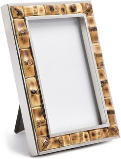 bamboo picture frame - Brown