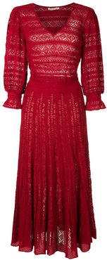 Melody midi dress - Red