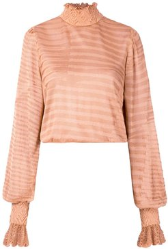 knitted Naly blouse - Neutrals