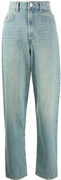 Corsy high-rise jeans - Blue