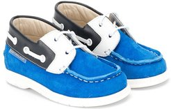 15mm colour block loafers - Blue