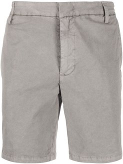 fitted chino shorts - Grey