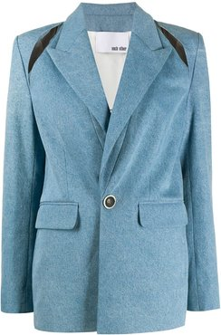 two-piece tailored suit - Blue