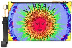 Medusa clutch - Blue
