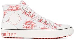 We Are The Weather high-top sneakers - White