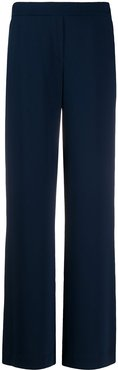 flared style trousers - Blue
