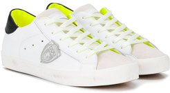 TEEN logo patch sneakers - White