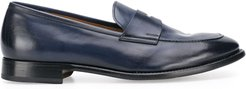 penny-strap loafers - Blue
