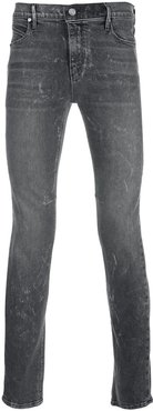 mid rise skinny fit jeans - Grey