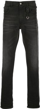 slim-fit jeans - Black