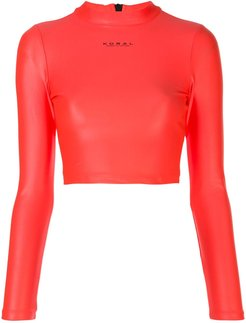 Activa Infinity cropped top - PINK
