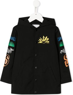 destination paradise coat - Black