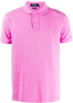slim-fit polo shirt - PINK