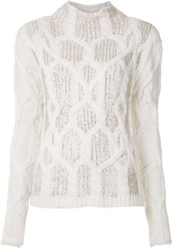 Reset knitted blouse - Neutrals