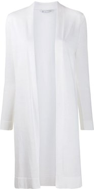 open front cardigan - White