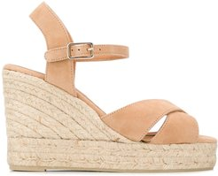 Blaudel wedge espadrille sandals - Neutrals