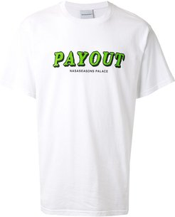 Payout short sleeve T-shirt - White