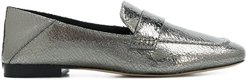 Emory metallic loafers - SILVER