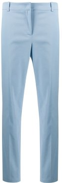 tailored straight leg trousers - Blue