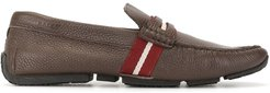 Pietro striped loafers - Brown