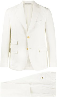formal two-piece suit - White