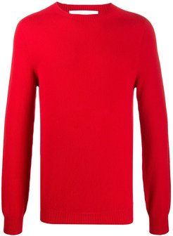 Woolf knitted jumper - Red