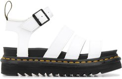 Blaire 40mm sandals - White