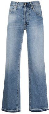 Ava high-rise wide-leg jeans - Blue