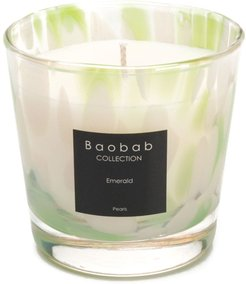 Emerald Pearls scented candles - White