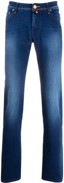 slim-fit relaxed jeans - Blue