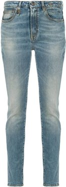 low rise skinny jeans - Blue