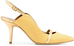 Marion slingback pumps - Yellow