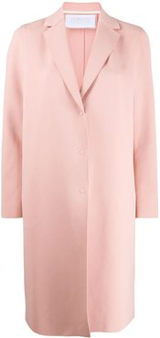 single breasted coat - PINK